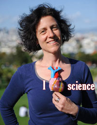 Robin Marks of Discovery Street Tours has left her heart in San Francisco.