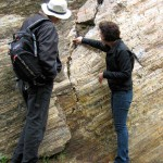 San Francisco Rocks: Inspecting the movement of a rock wall
